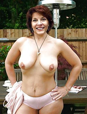 Lewd old moms taking off their underwear