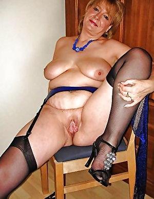 Astonishing mature businesswoman getting pleasured on camera
