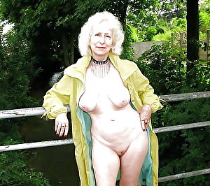 Attractive older damsel intensively hammered