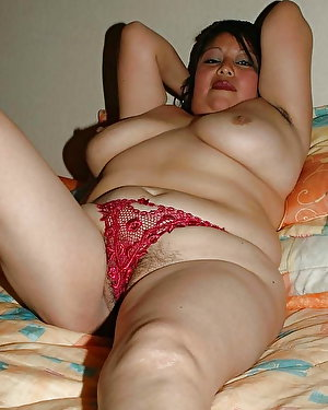 Raunchy milf revealing her holes